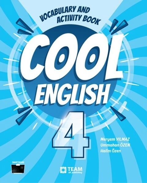 Team Elt Publishing 4. Sınıf Cool English Vocabulary and Activity Book