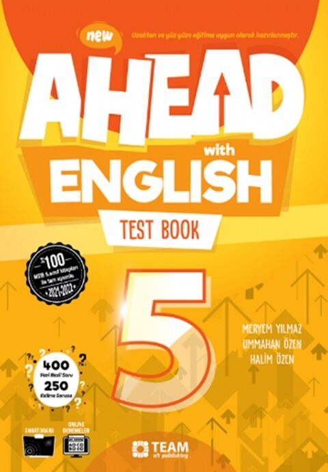 Team ELT Publishing 5. Sınıf Ahead With English Test Book