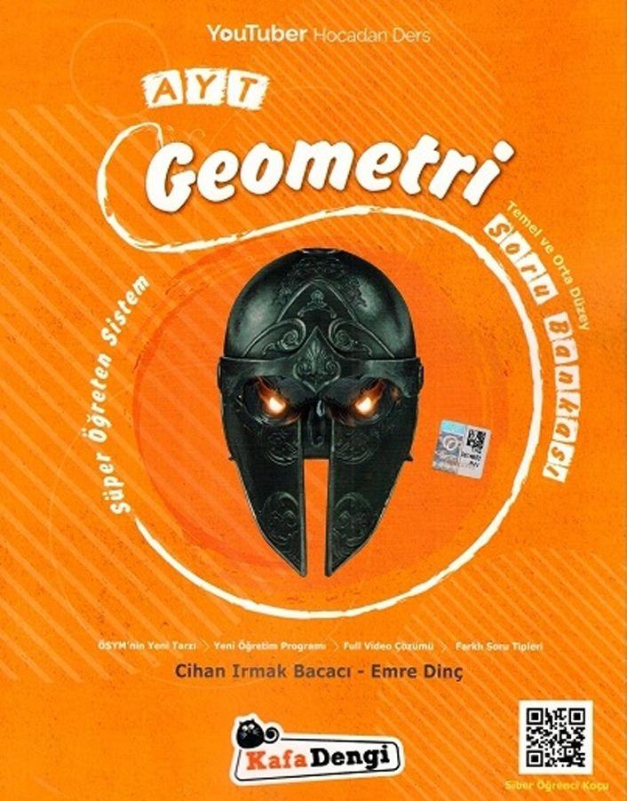 AYT Geometri Soru Bankası - Süper Öğreten Kafa Dengi Yayınları