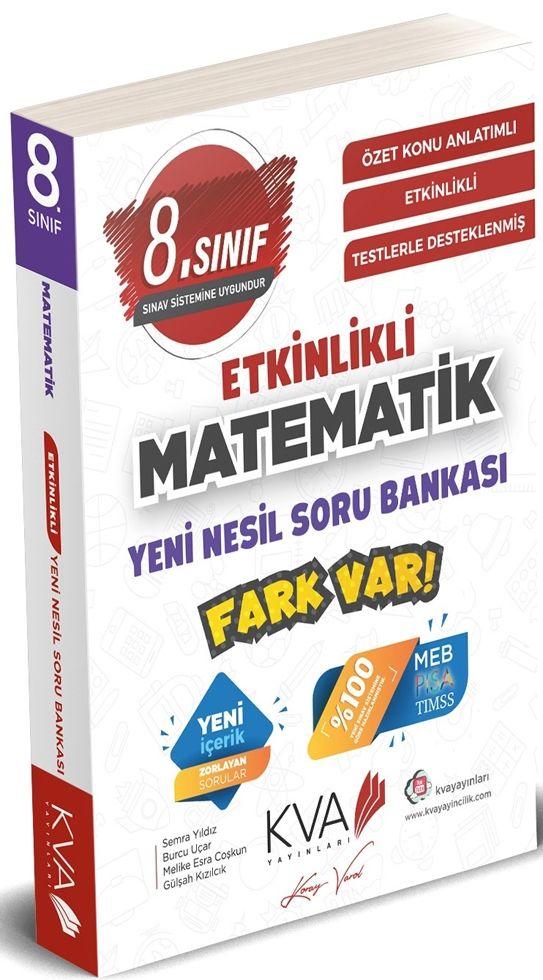 KVA 8. Sınıf Matematik Etkinlikli Soru Bankası Koray Varol
