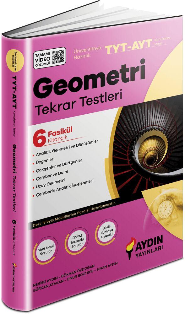 TYT - AYT Geometri Tekrar Testleri Aydın Yayınları