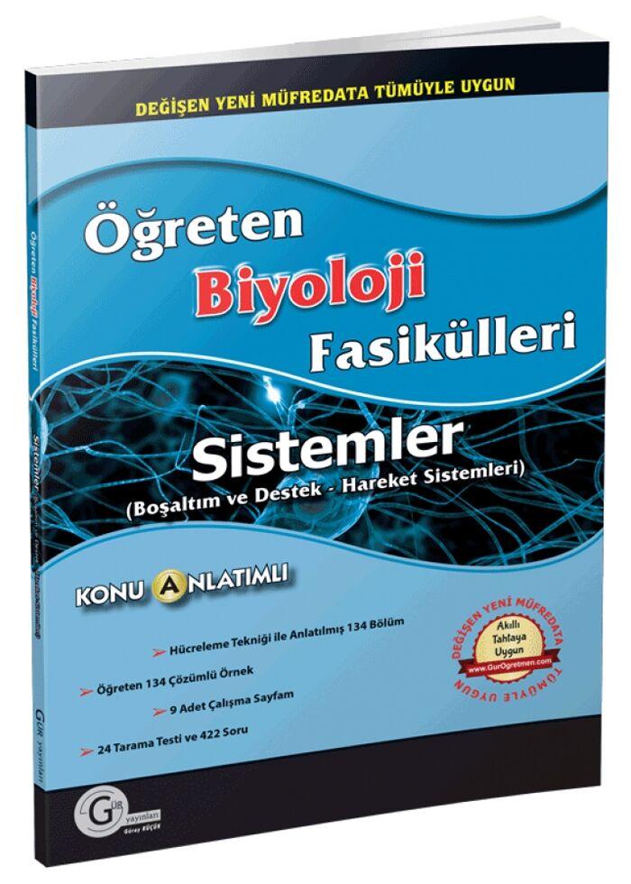 Gür Yayınları Öğreten Biyoloji Fasikülleri Sistemler