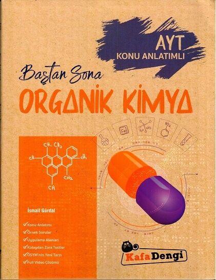 Baştan Sona Organik Kimya  Kafa Dengi Yayınları