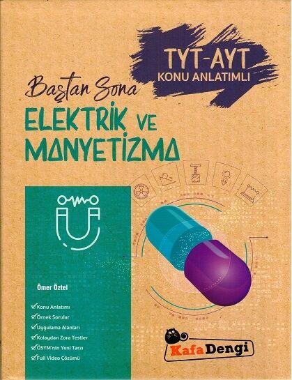 Baştan Sona Elektrik ve Manyetizma  Kafa Dengi Yayınları