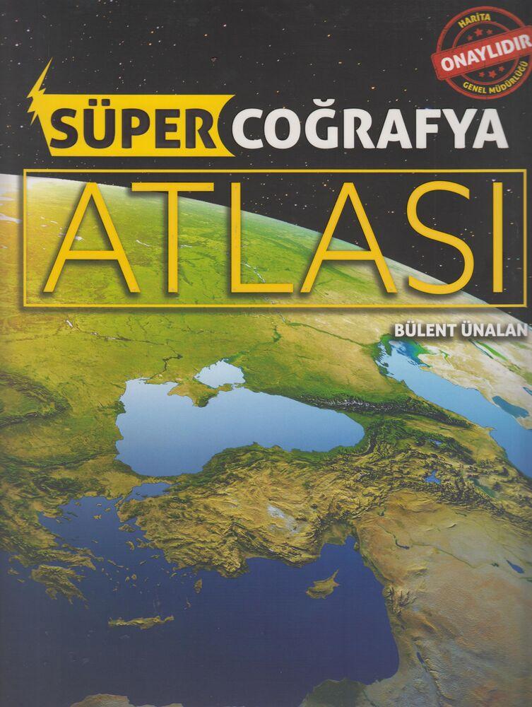 Süper Coğrafya Atlası Armada Yayınları