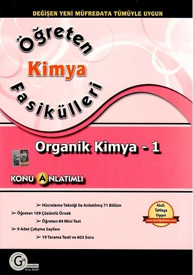 Gür Yayınları Öğreten Kimya Fasikülleri Organik Kimya 1