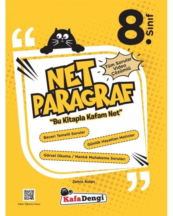 8.Sınıf NET Paragraf Soru Bankası  Kafa Dengi Yayınları