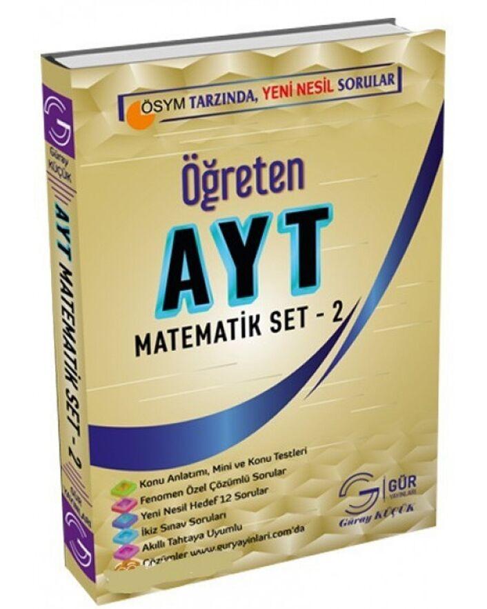 Gür Yayınları AYT Matematik Öğreten Set 2