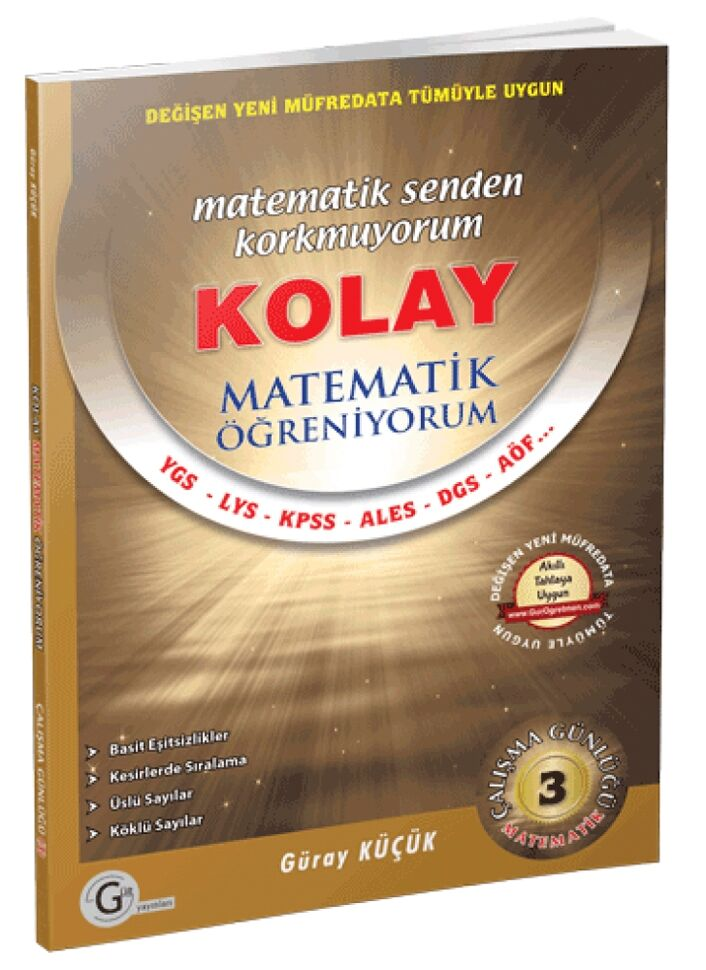 Gür Yayınları Kolay Matematik Öğreniyorum 3