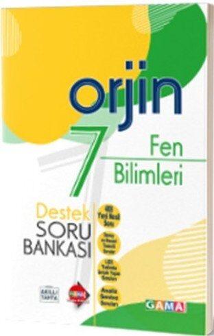 Gama Okul Yayınları 7. Sınıf Fen Bilimleri Orjin Destek Soru Bankası